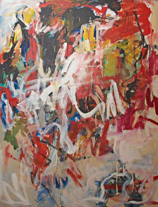 0829, Wie gewachsen, 1968, 125x160 cm, Acryl / Leinwand