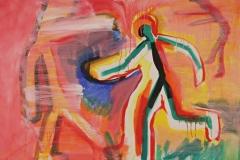 0156, Gut-drauf, 1994, 125x100 cm, Acryl / Leinwand