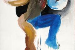 0343, Elfe, 1974, 85x100 cm, Acryl / Leinwand
