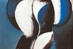 0456, Muskelfigur, 85x100 cm, Acryl / Leinwand