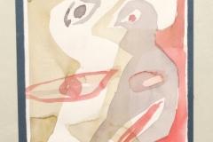 12007, Figur, Aquarell/Papier, 19,5x15 cm