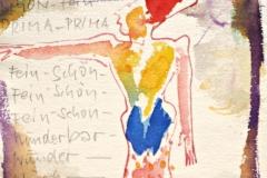 12066, Ägypten, Aquarell/Papier, 1977, 20x14,5 cm