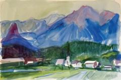 1219, Imst, 1994, Aquarell, 56 x 38 cm