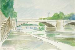 5108, Rom, 2001, Aquarell, 50,5 x 35,5 cm