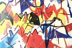 0025, Kaisergebirge, 1993, 60x50 cm, Acryl / Leinwand