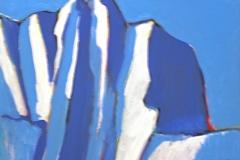 0058, Felsen, 1992, 60x50 cm, Acryl / Leinwand