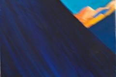 0065, Am Morgen, 1989, 30x38 cm, Acryl / Leinwand