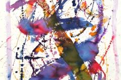 14030, Modern, Aquarell/Papier, 78x57 cm