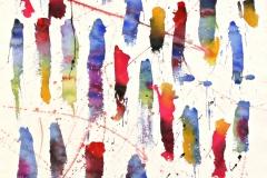 14034, Modern, Aquarell/Papier, 1977, 78x57 cm
