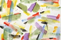 14348, Wie ein Schmetterling, Aquarell/Papier, 1979, 34x48 cm