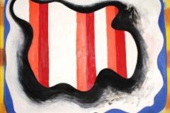 0515, Innenleben, 1979, 110x140 cm, Acryl / Leinwand