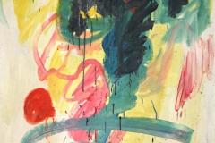 0603, Pflanzenwelt, 1985, 110x140 cm, Acryl / Leinwand