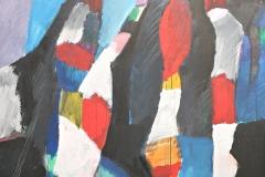 0803, Geordnetes, 1981, 115x140 cm, Acryl / Leinwand