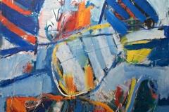0827, Grand Prix, 1970, 138x110 cm, Acryl / Leinwand