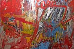 0828, Schach dem König, 1967, 120x160 cm, Acryl / Leinwand