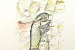 11727, Golf, Aquarell/Papier, 1975, 43x31 cm
