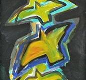 13030, Vogel, Aquarell/Papier, 76x23,5 cm