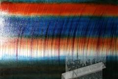 0621, Transparent, 99x84 cm, Acryl / Öl / Kreide / Leinwand