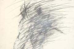 11744, Golf, Bleistift/Papier, 1975, 85,5x62,5 cm