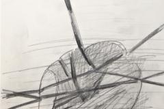 12012, Figur, Tusche/Papier, 1975, 30x42 cm