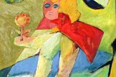 0212, Der kleine Prinz, 1993, 80x100 cm, Acryl / Hartfaserplatte
