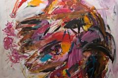 0769, Verwandlung, 1991, 100x125 cm, Acryl / Leinwand