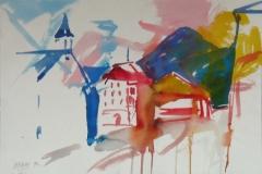 1115, Imst, 1994, Aquarell, 51 x 36 cm
