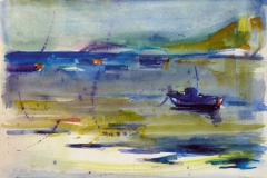 702,  Opatija, 1985, Aquarell, 56 x 47 cm