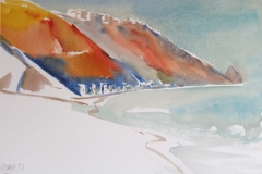5068, Lettoiano, 1992, Aquarell, 48 x 33 cm