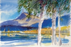 1333, Tirol / Schwarzsee, 1995, Aquarell, 38 x 28 cm