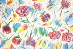 10105, Blume, Aquarell/Papier, 31x46 cm