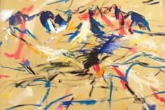0067, Wilder Kaiser, 1991, 80x100 cm, Acryl / Leinwand