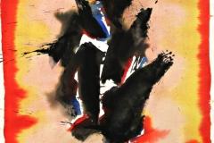 14020, Modern, Aquarell/Papier, 1977, 79x57 cm