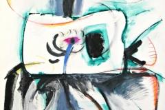 14089, Modern, Aquarell/Papier, 1978, 85x62 cm