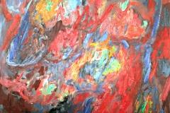 0492, Der Traum, 1967, 85x105 cm, Acryl / Leinwand
