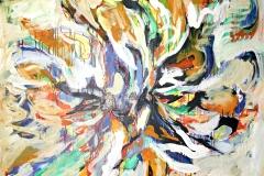 0516, Zentriert, 140x115 cm, Acryl / Leinwand