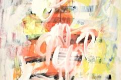 0532, Weißer Rauch, 1968, 85x100 cm, Acryl / Leinwand