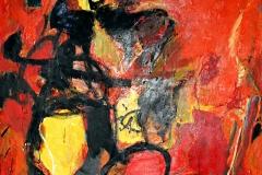 0558, Großes Insekt, 1969, 140x110 cm, Öl / Leinwand