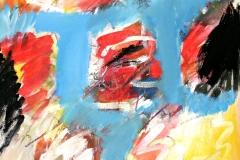 0560, Insel, 1976/77, 82x100 cm, Acryl / Leinwand