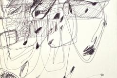 14192, Modern, Aquarell/Papier, 1969, 65x38 cm