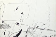 14230, Modern, Tusche/Papier, 1969, 65x38 cm