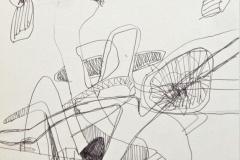 14277, Modern, Tusche/Papier, 1969, 44x30 cm