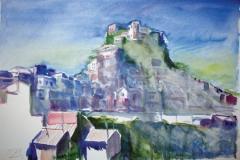 566, Salzburg, Aquarell, 56 x 38 cm
