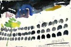 7426, Salzburg Felsenreitschink, 1984, Aquarell/Papier, 13x19 cm
