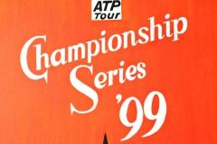 0083, Plakatentwurf Championship Series, 1999, 65x80 cm, Acryl / Leinwand